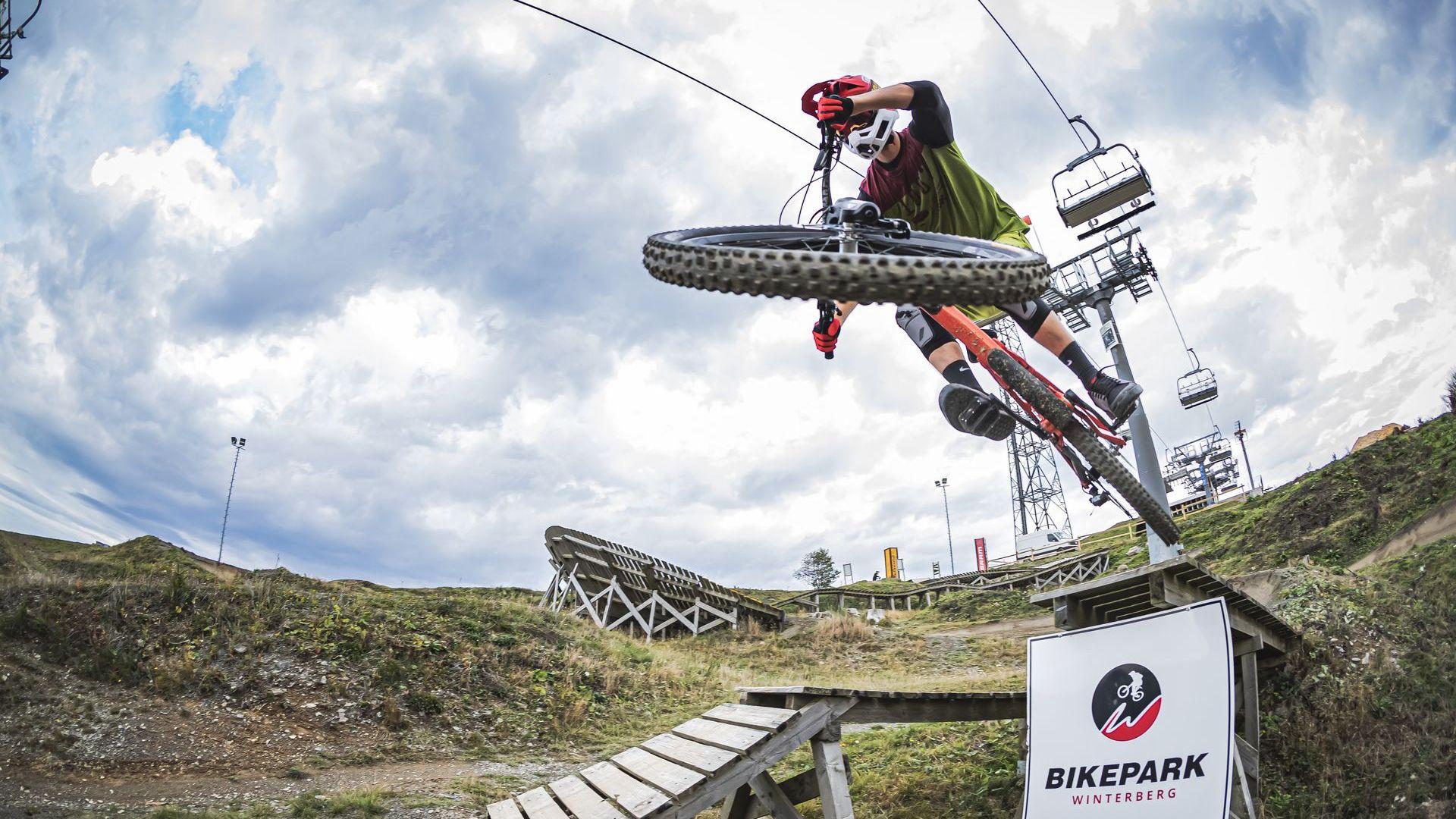 Bikepark Winterberg mit Trail und Lift